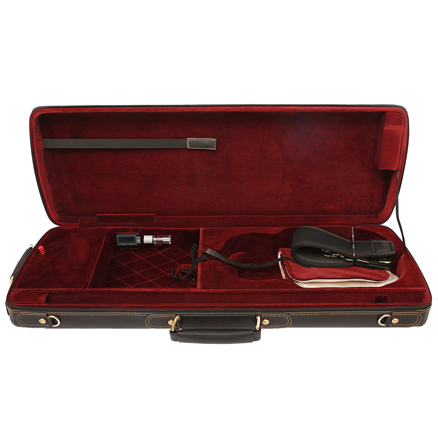 CC Case for violin Bordeaux red