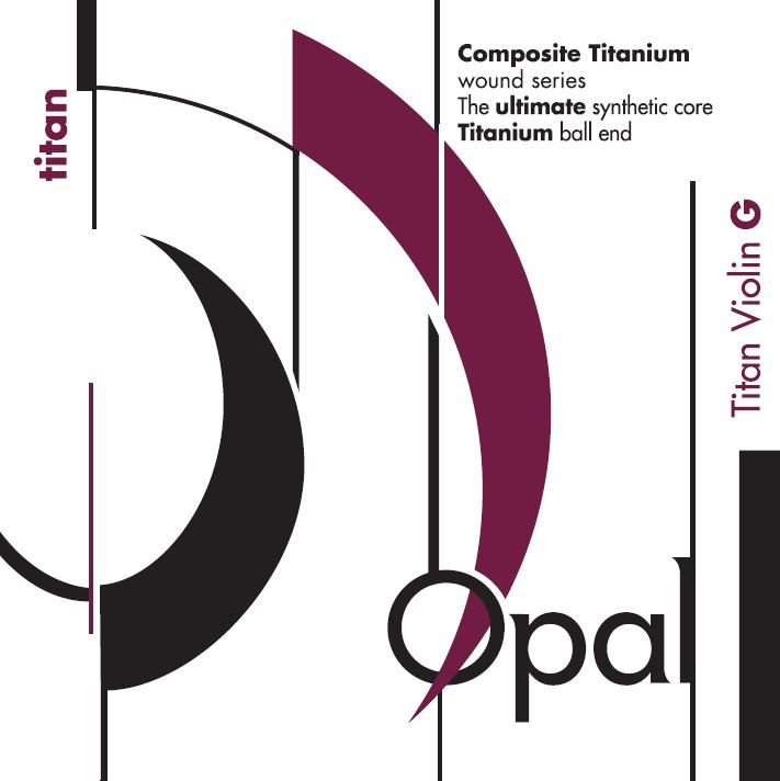 Opal Titan Violin 4/4 G