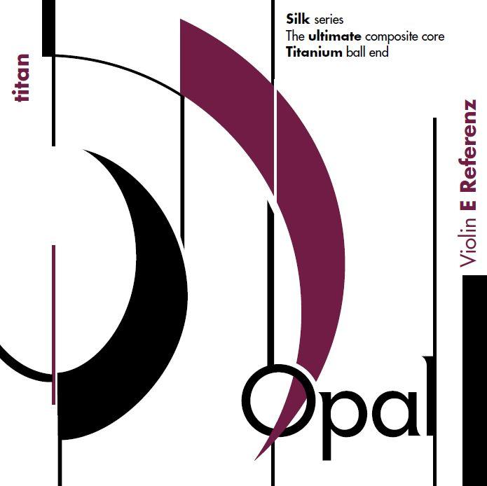 Opal Titan Violin E Referenz 4/4 in paper envelope
