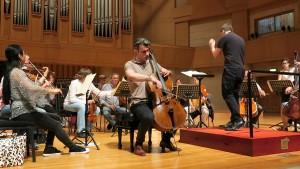 David Pia rehearsal